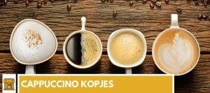 cappuccino kopjes
