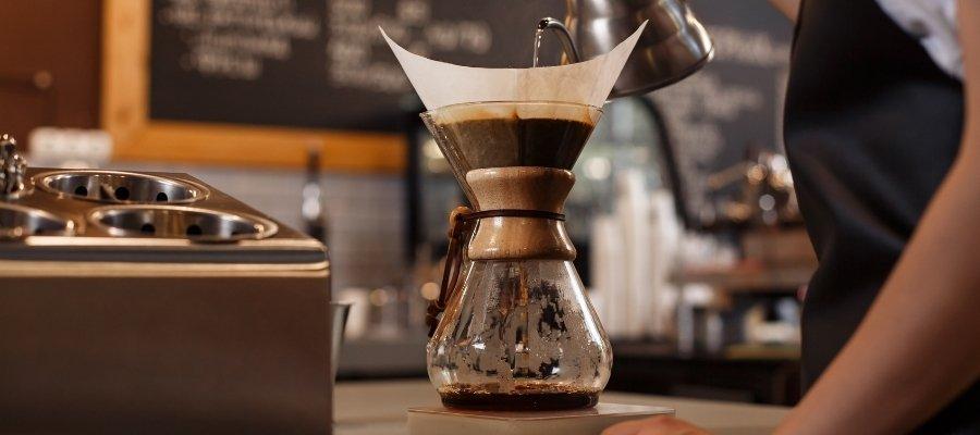 Chemex filterkoffie