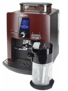 Krups Kaffeevollautomat EA829G Latt'Espress Quattro Force