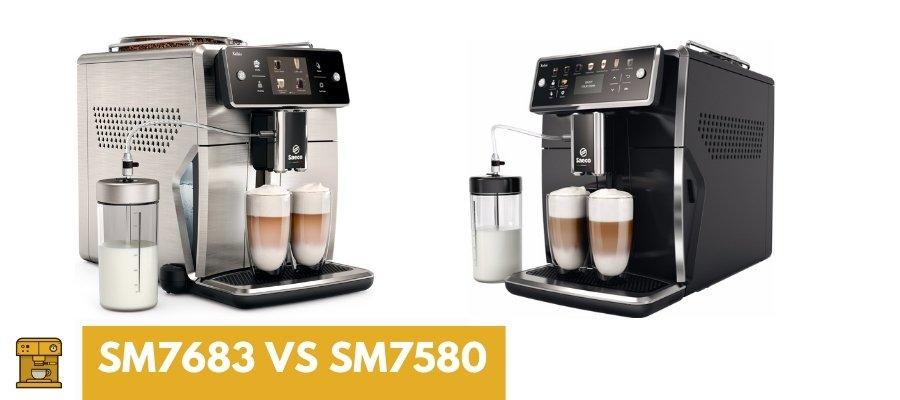 Saeco Xelsis SM7683 vs SM7580
