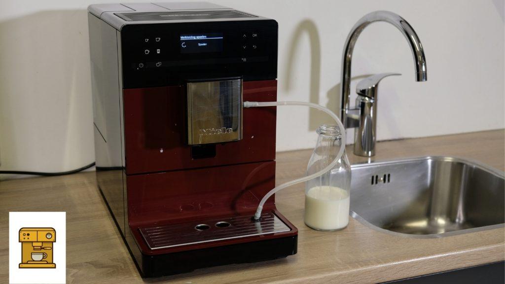 Milchleitungen spülen CM5310