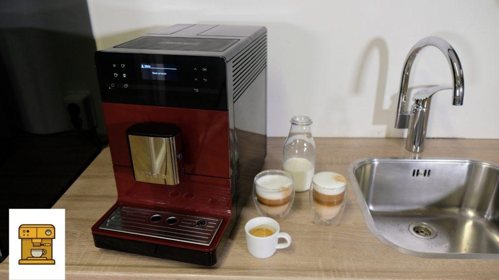 Kwaliteit verschillende koffiesoorten Miele CM5310 test