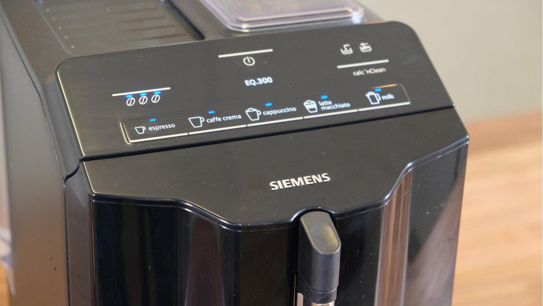 Siemens EQ 300 bedieningspaneel
