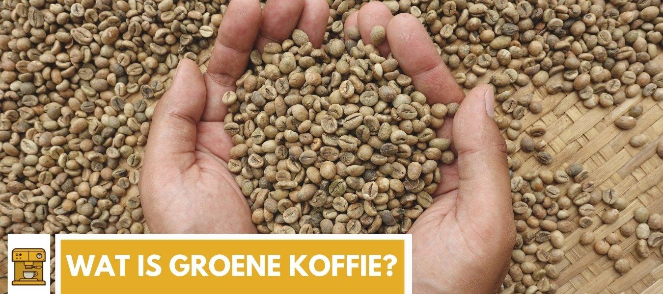wat is groene koffie?