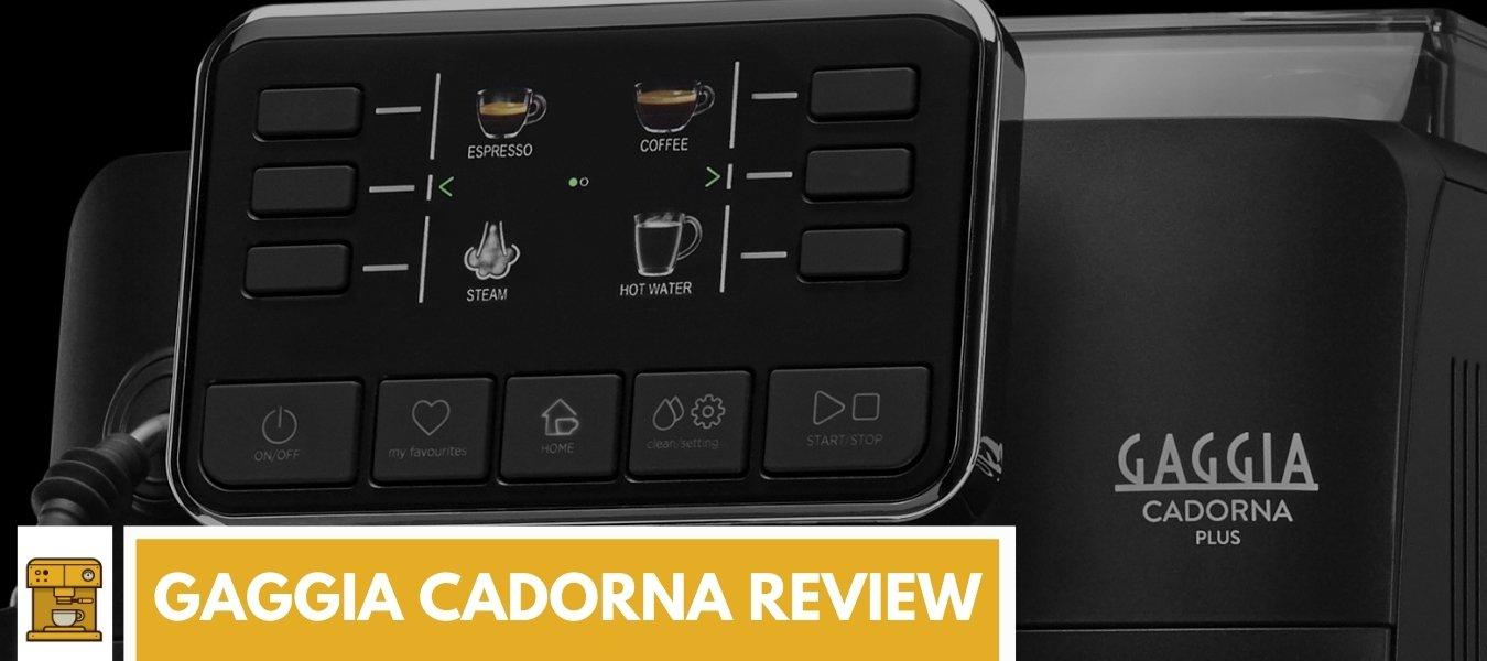 Gaggia Cadorna review: Plus, Milk of Prestige