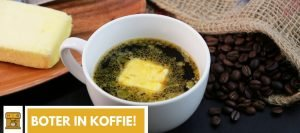 Boter in koffie