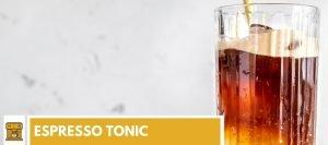 espresso tonic recept