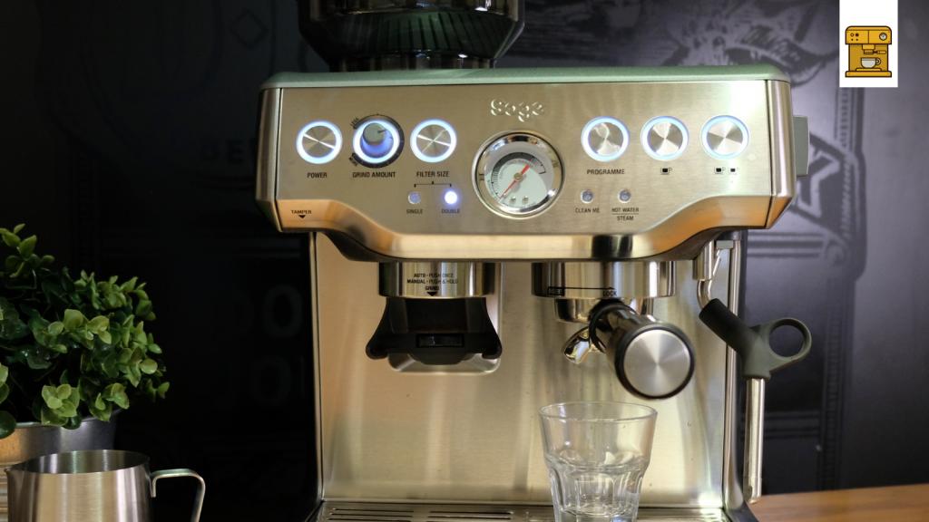SES875 Sage Barista Express Kaffeemaschine