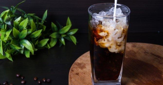 simpele ijskoffie