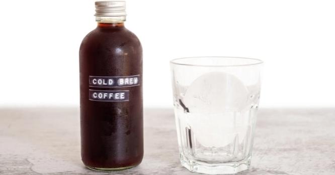 Cold Brew Kaffee zubereiten