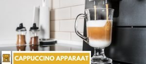 cappuccino apparaat