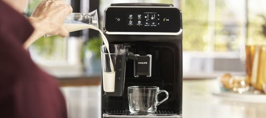 Philips 2200 EP2231/40 cappuccino apparaat