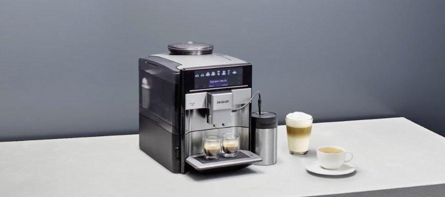 Siemens cappuccino machine