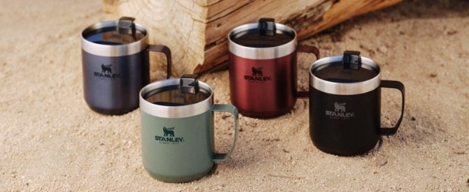 Stanley thermos koffiebeker to go