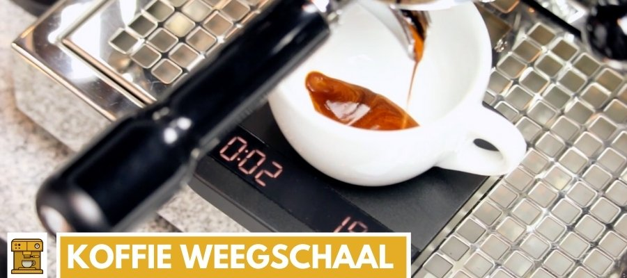 koffie weegschaal