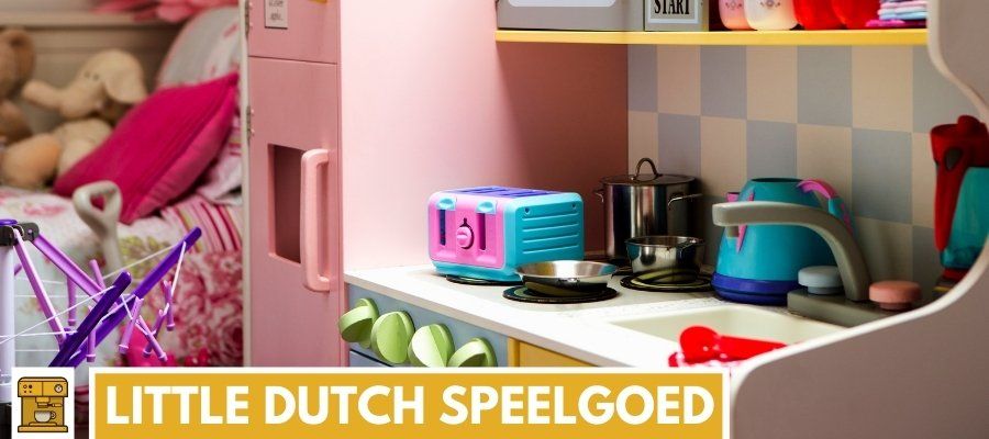 Little Dutch speelgoed koffiezetapparaat